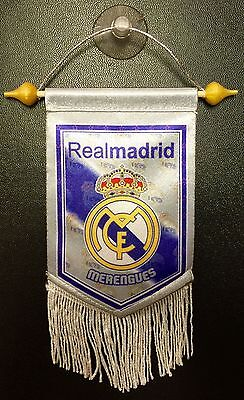 Real Madrid Mini (Real Madrid Mini Flag Window Banner With Suction)
