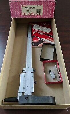 255-12 Vernier Height Gage Old Case