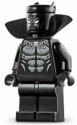 LEGO Marvel Super Heroes Black Panther MINIFIG from Lego set #76142 Brand New