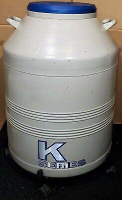 Taylor Wharton K-series 5-k Dewar Cryogenic Liquid Nitrogen Storage 6 Racks
