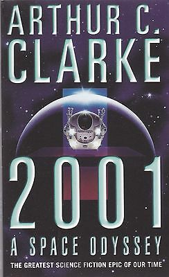 2001: A Space Odyssey by Arthur C. Clarke (Paperback) New Book