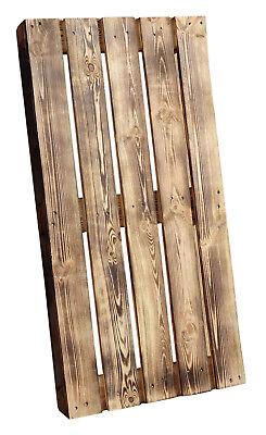 Geflammte Holzpalette 120x60x14cm