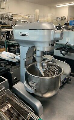 Hobart A200 Commercial 20qt Mixer With Bowl And Attachments
