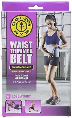 Weider Plus Size Neoprene Waist Reducer Trimmer Ab Belt Fat Burn NEW NIB