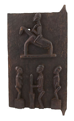 Porte of Attic Baoule 70 x 37 cm Art African 1055 Gar