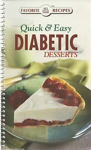DIABETIC DESSERTS Cookbook NEW Recipes TREATS Sweets COOKIES Cakes PIES Brownies