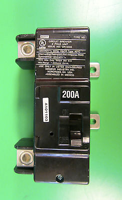 Murray Siemens 200a 200 Amp 2 Pole Dr-5033 Breaker Preowned In Mint Condition