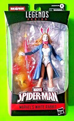 "Marvel Legends Spider-man 6"" White Rabbit Action Figure (BAF Demogoblin) - NEW"