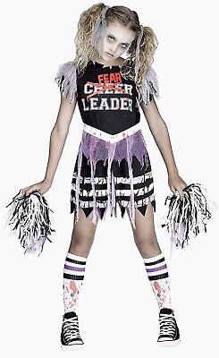 FEARLEADER Zombie Cheerleader Halloween Costume
