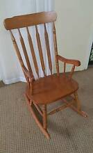 Solid timber rocking chair Coorparoo Brisbane South East Preview