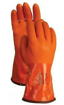 Atlas Showa 460 Vinylove Cold Resistant Insulated Pvc Gloves
