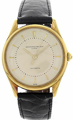 Men's Vintage Vacheron Constantin 18K Yellow Gold Watch