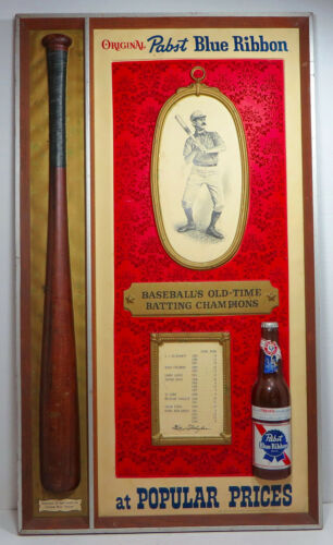 """Pabst Blue Ribbon """"Baseball"""