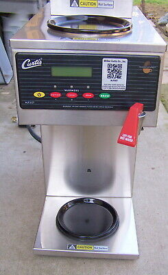 Curtis Commercial 3 Warmer Coffee Brewer 220 Volts Model Alp3gt No Filter Basket