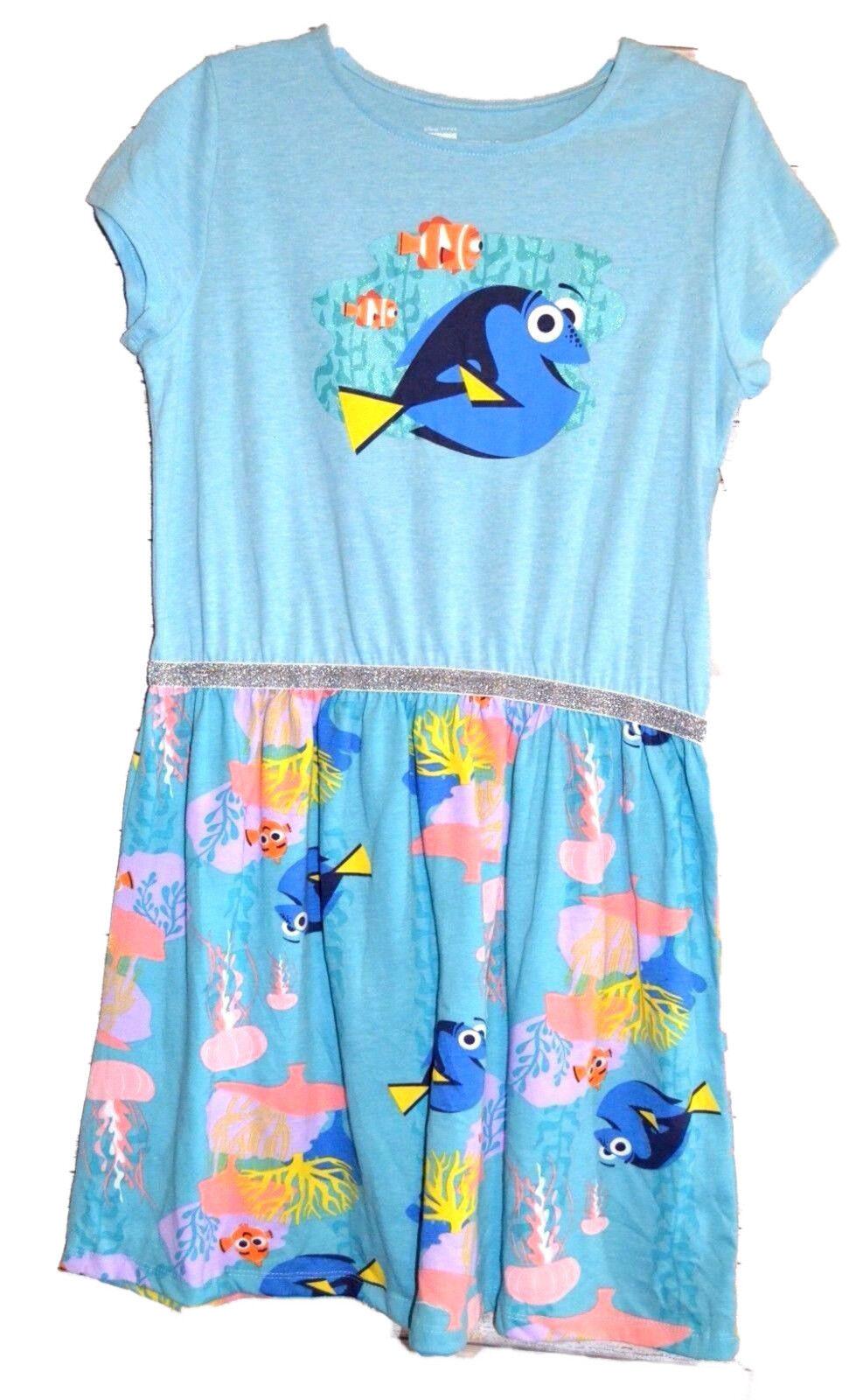 Disney Finding Dory Girls Dress size 7/8