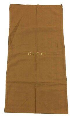 "Vintage Gucci Dust Bag Shoe Protector 13""x 25"" Boots Dust bag"