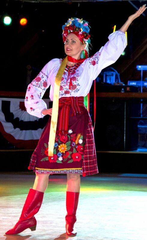 """Ukrainian embroidered blouse """"Zorya"""""""