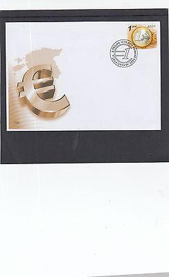 Estonia  2012 Euro Coin FDC Tallin special h/s