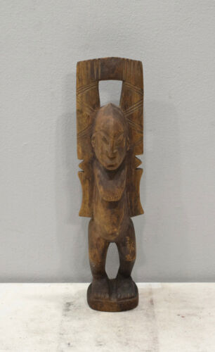 African Dogon Male Wood Statue Mali