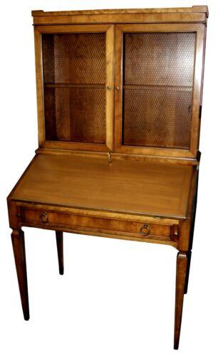 Vintage Slant-Front Desk w/ Rustic Bookcase by Baker Milling Road