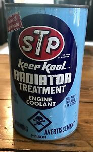 Vintage Blue STP Radiator oil !