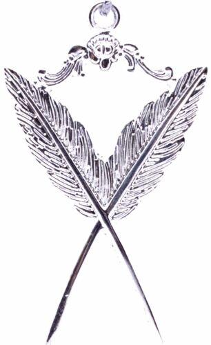 Secretary Masonic Collar Jewel Silver