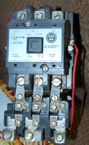 WESTINGHOUSE THERMAL OVERLOAD RELAY Ambient Compensated-AA23P