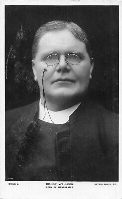 POSTCARD   RELIGIOUS   BISHOP  WELLDON  Dean  of  MANCHESTER