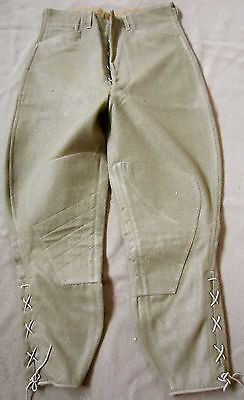 WWI US M1917 COMBAT FIELD BREECHES TROUSERS-XLARGE