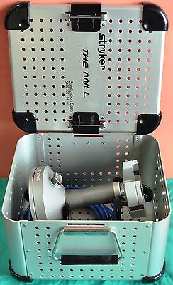 Stryker 5400-700 The Mill Bone Mill With Sterilization Case - Tested