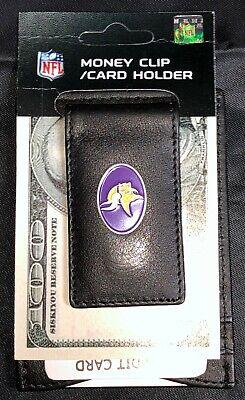 NFL Minnesota Vikings Money clip/ Card holder Minnesota Vikings Clip Holder