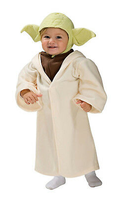 Star Wars YODA Halloween Costume Toddler 3T 4T Child Kid Boy](Star Wars Halloween Costume Baby)
