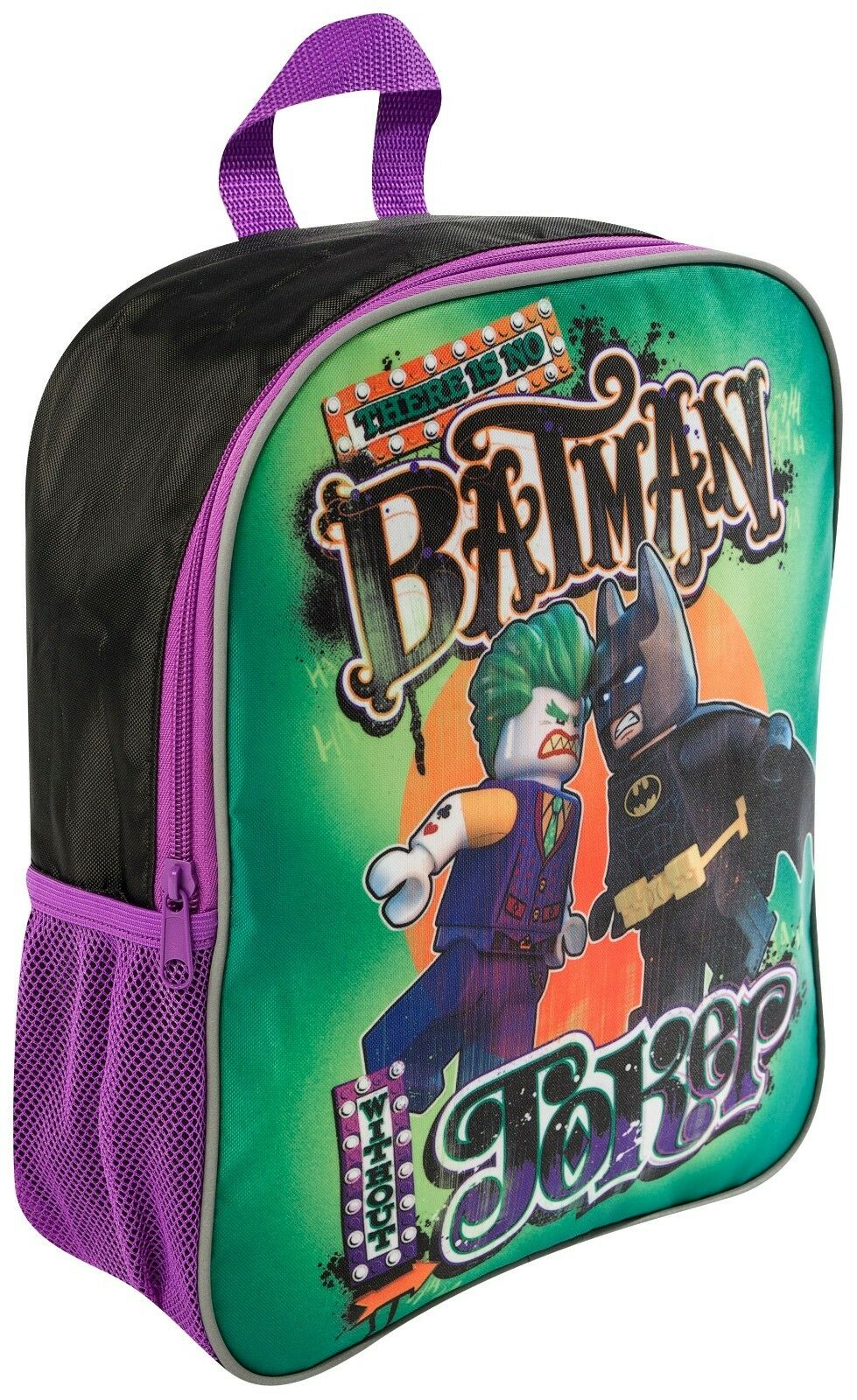 4225be9e3fae Details about KIDS CHILDRENS LEGO BATMAN VS JOKER JUNIOR BACKPACK SCHOOL  TRAVEL RUCKSACK BAG