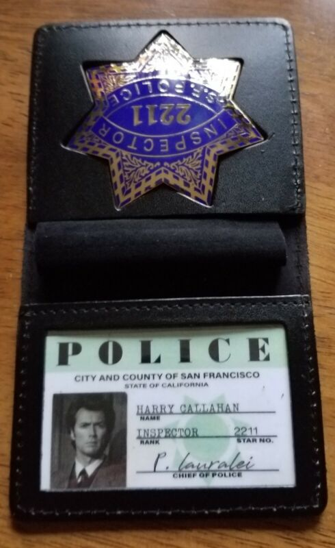 Clint Eastwood Dirty Harry Wallet And ID