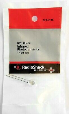 Radioshack Npn Silicon Infared Phototransistor No 276-0145 T- 1 34 Case