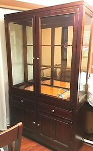 Dining Room wood hutch/cabinet