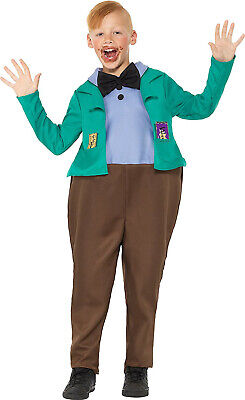 Augustus Gloop Charlie Chocolate Factory Roald Dahl Fancy Costume Outfit 7-12 - Augustus Costume