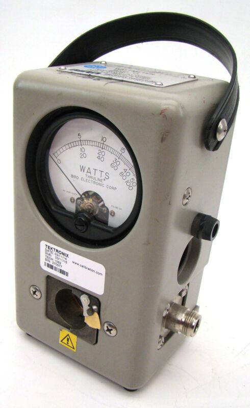 Bird 43 Thruline WattMeter Radio Watt Meter c