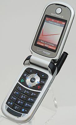 Motorola V325 Black Verizon Wireless Flip Cell Phone Camera Calendar Internet 723755887343 Ebay
