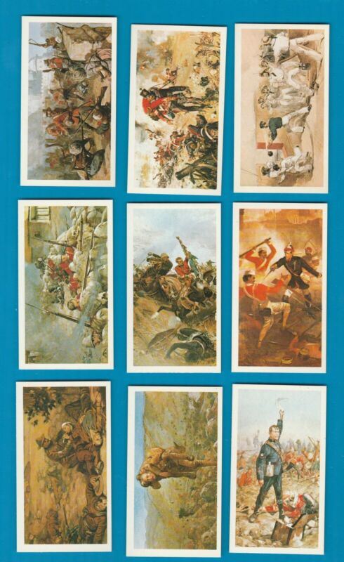 Tobacco Cigarette cards set History of the Victoria cross  set of 24