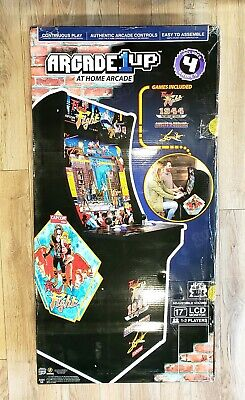 "Arcade1up Final Fight 1944 Ghosts 'n' Goblins Strider NEW 4 games 17"" LCD Capcom"