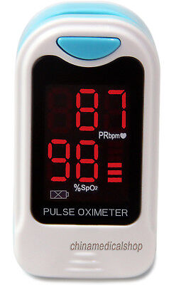 US Seller Finger Tip Pulse Oximeter SpO2 Heart Rate Monitor Blood Oxygen meter