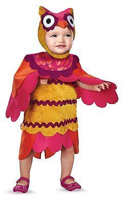 Owl Costume Girls Infant Toddler Bird Dress Hat Fancy Dress Cute Hoot 12-18M NEW - Toddler Owl Costume
