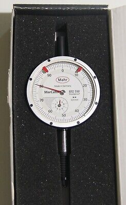 Mahr Marcator 810 Sw Water- And Dust-resistant Dial Indicator 0-10 Mm 0.01 Mm