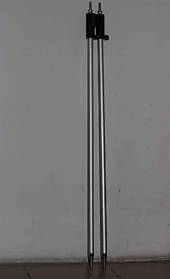 2pcs New 2.15m 7ft Prism Pole For Leica Type Prisms Total Station Surveying