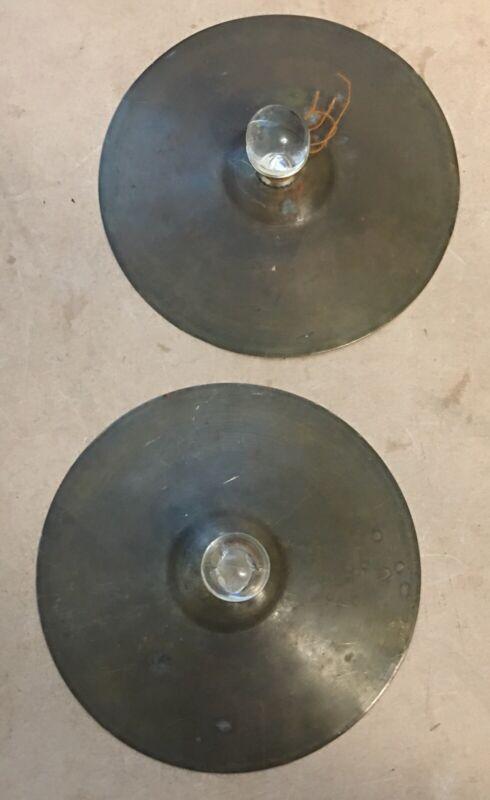 Pair of Vintage Ludwig Cymbals