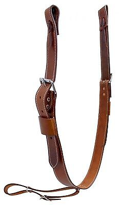"""1 3/4"""" Wide Medium Oil Rear Girth or Flank Cinch With Billets New Horse Tack"""