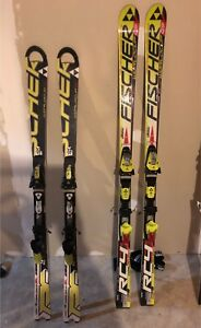 Fischer World Cup GS and SL race skis