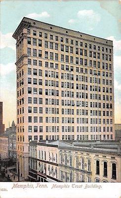 Memphis Tennessee Trust Building South Main Now Commerce Title 1910 Pck Postcard