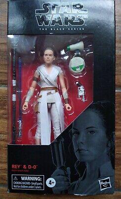 "Star Wars Black Series REY & D-O 6"" Action Figure #91 Hasbro Sealed"